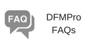 DFMPro FAQs