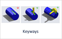Keyways design guideline