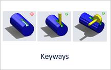 Keyways design guideline