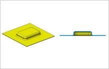 Maximum Embossment Depth guidelines in sheet metal design