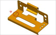 Minimum hole diameter design guidelines in sheet metal design