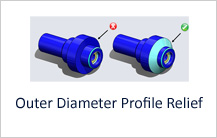 Outer Diameter Profile Relief in Turning