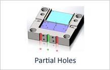 Partial Holes design guideline