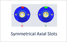 Symmetrical Axial Slots in Turning