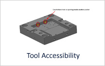 Tool Accessibility in Milling