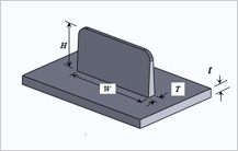 Recommended Rib Parameter guidelines in Injection Molding Design