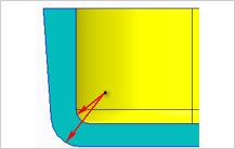 Sharp Corners guidelines in injection molding Design