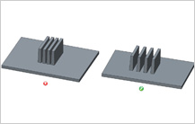 Spacing-Between-two-Parallel-Ribs