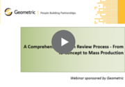 Comprehensive Design Review Process Webinar recording