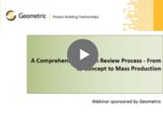 Comprehensive Design Review Process Webinar recording