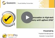 DFMPro High-Tech webinar recording