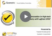 DFMPro High-Tech webinar recording