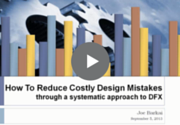 How to reduce costly design mistakes Webinar Recording
