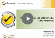 What's new in DFMPro for Creo _Pranav
