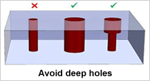 Design for Machining-Deep Holes