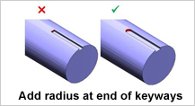 Design for Machining - radius_at_their_ends