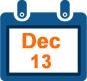 13th dec calendar