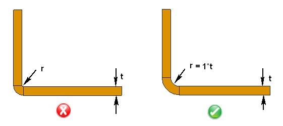Dfmpro Provides Sheet Metal Design Guidelines