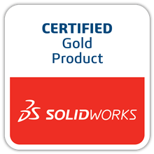 SOLIDWORKS-Certified-Gold-Product