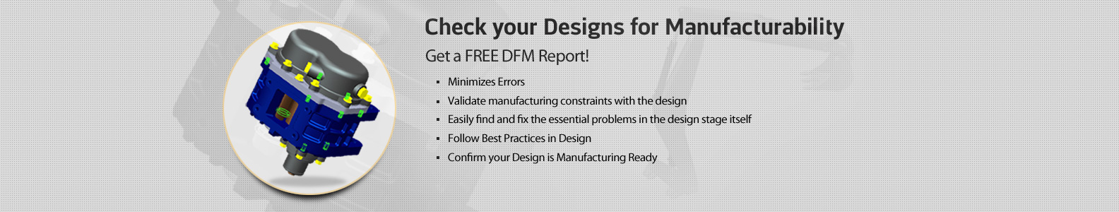 Free DFM Evaluation