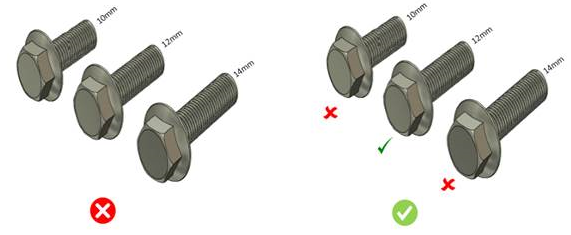 Bolt and Screw Rationalization