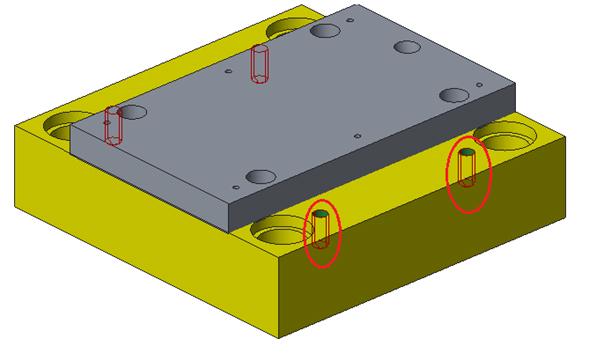 assembly design - deep pockets