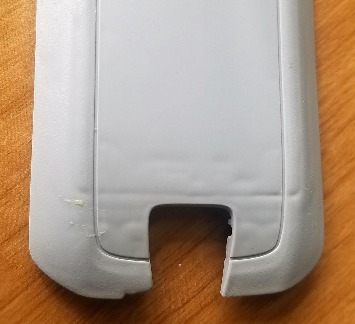 broken cellphone cap