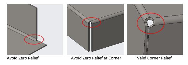 bend relief
