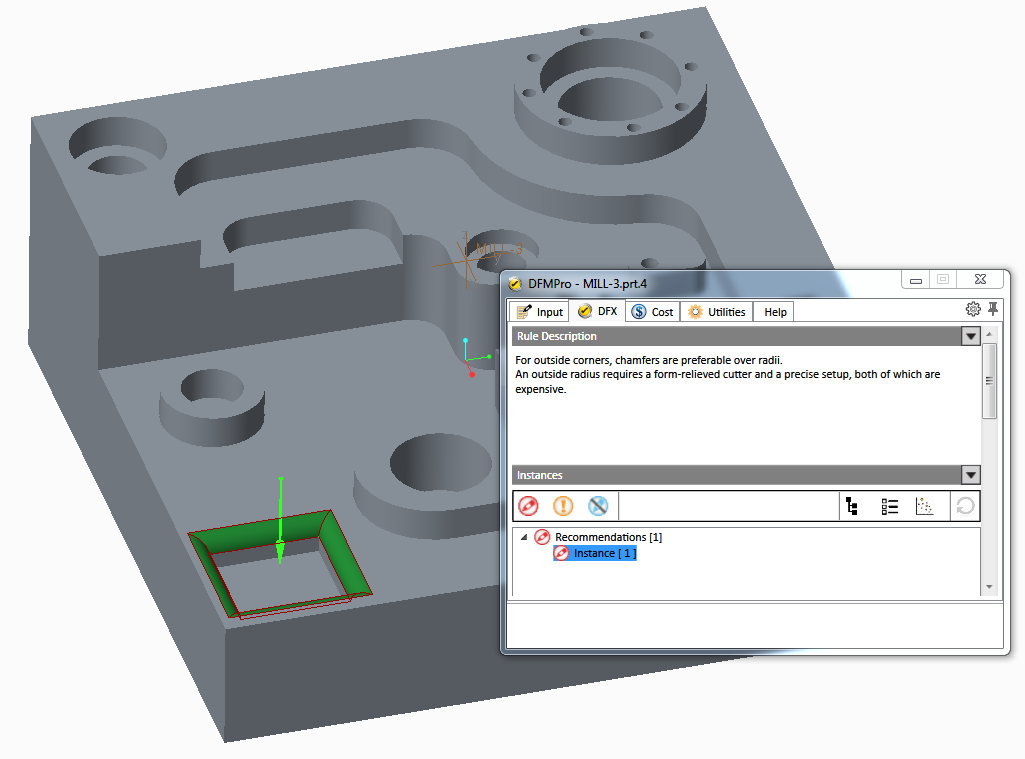 product cost reduction - Feature design and impact on manufacturing time