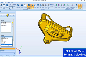 dfmpro for sheet metal forming rules